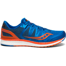 saucony Liberty ISO - Chaussures running Homme - orange/bleu